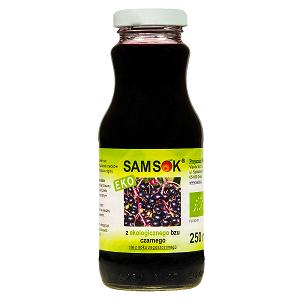 sok z ekologicznego czarnego bzu