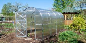 szklarnia ogrodowa 2x2